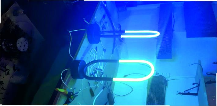 neon aydınlatma