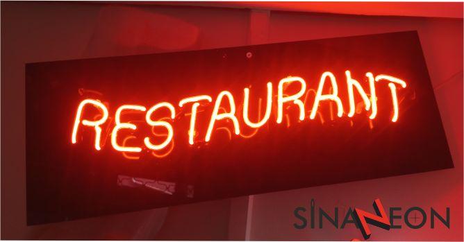 Restaurant Neon Tabela