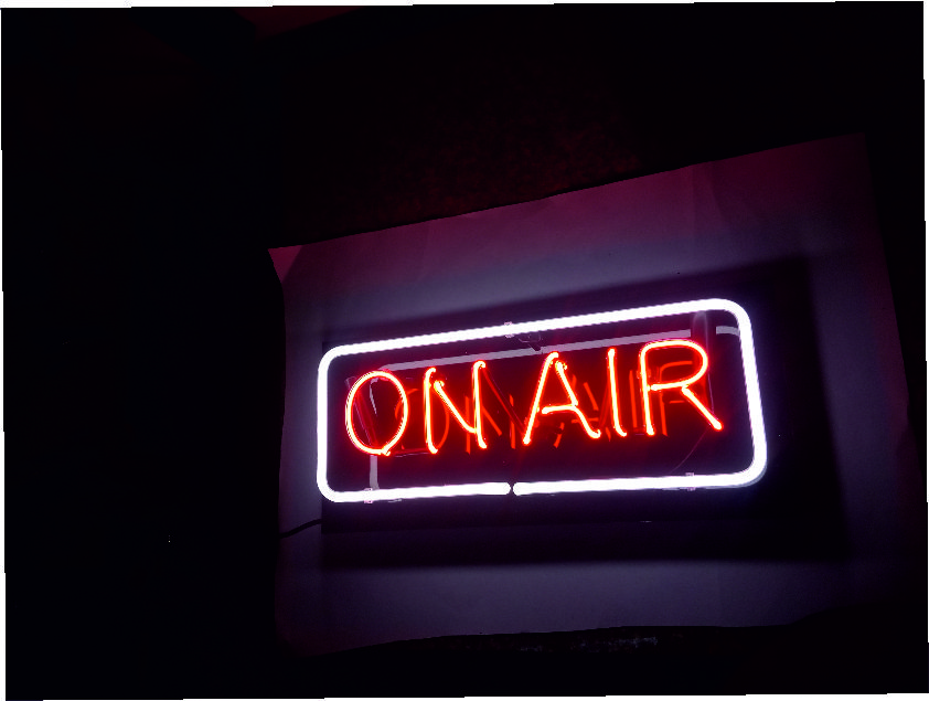 ON AIR NEON SİGN