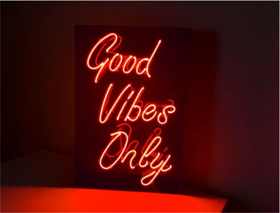 good vibes only neon satışı