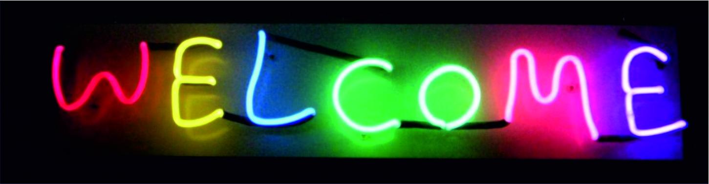 neon imalatı hoşgeldiniz