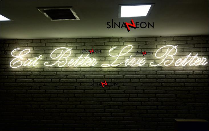 Neon Yazı
