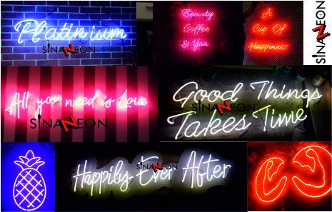 Neon Tabela İmalatı - Toplu Neon Fotoğrafları