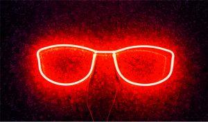 Gözlük neon tabela Gözlük Görseli