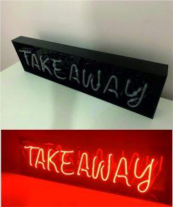 takeaway neon tabela - şok fiyatlarla